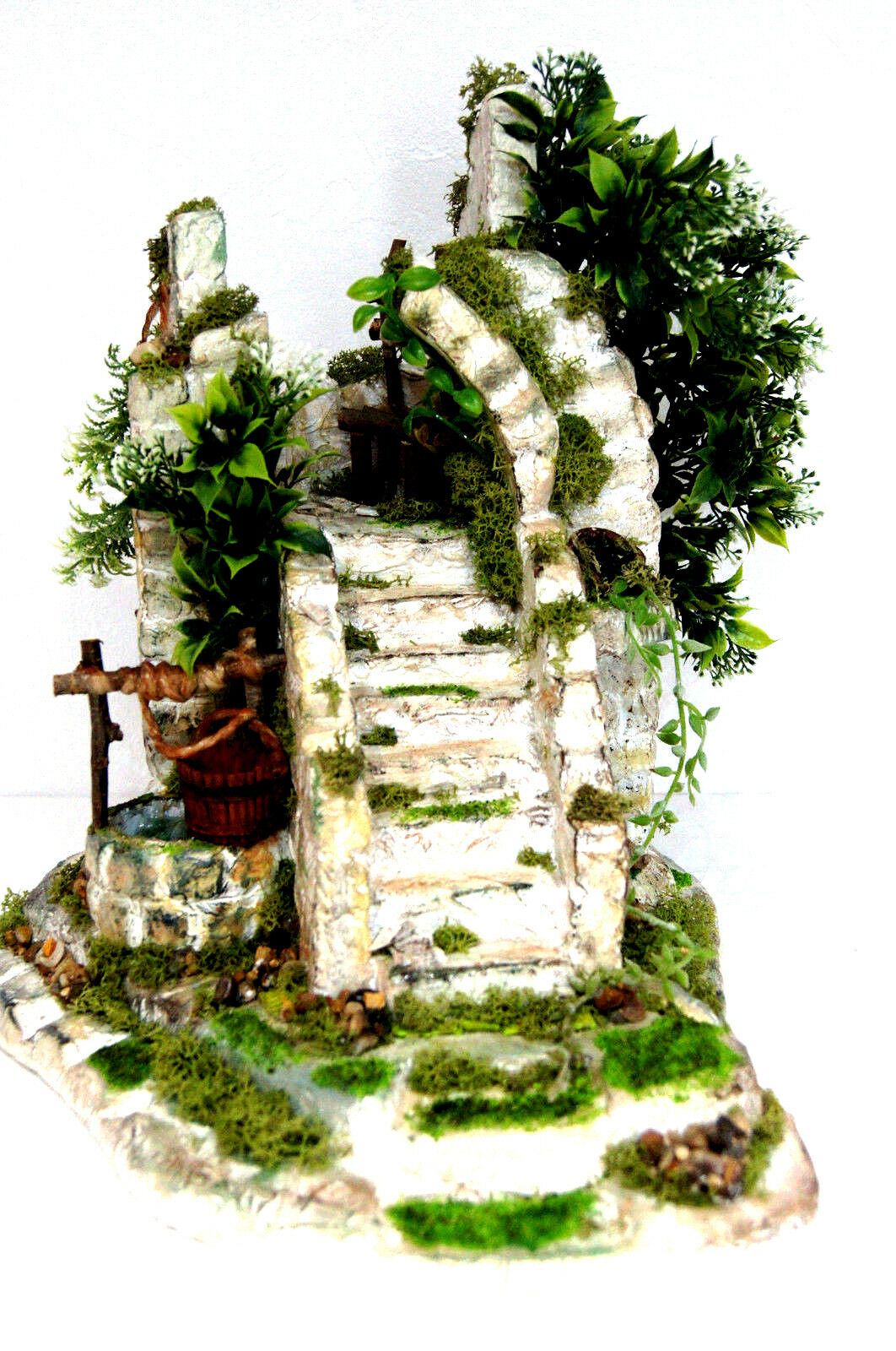 Bonsai Kunstpflanze Kunstbaum Topf Office Büro Dekoration Handarbeit Dekor BO3