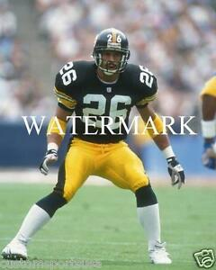 c31f1f9cf73 Image is loading ROD-WOODSON-Pittsburgh-Steelers-Glossy-8-x-10-