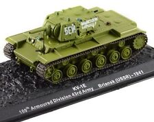 KV-1E 109th Armoured Division 43rd Army Briansk (USSR) 1941 New 1:72 Scale