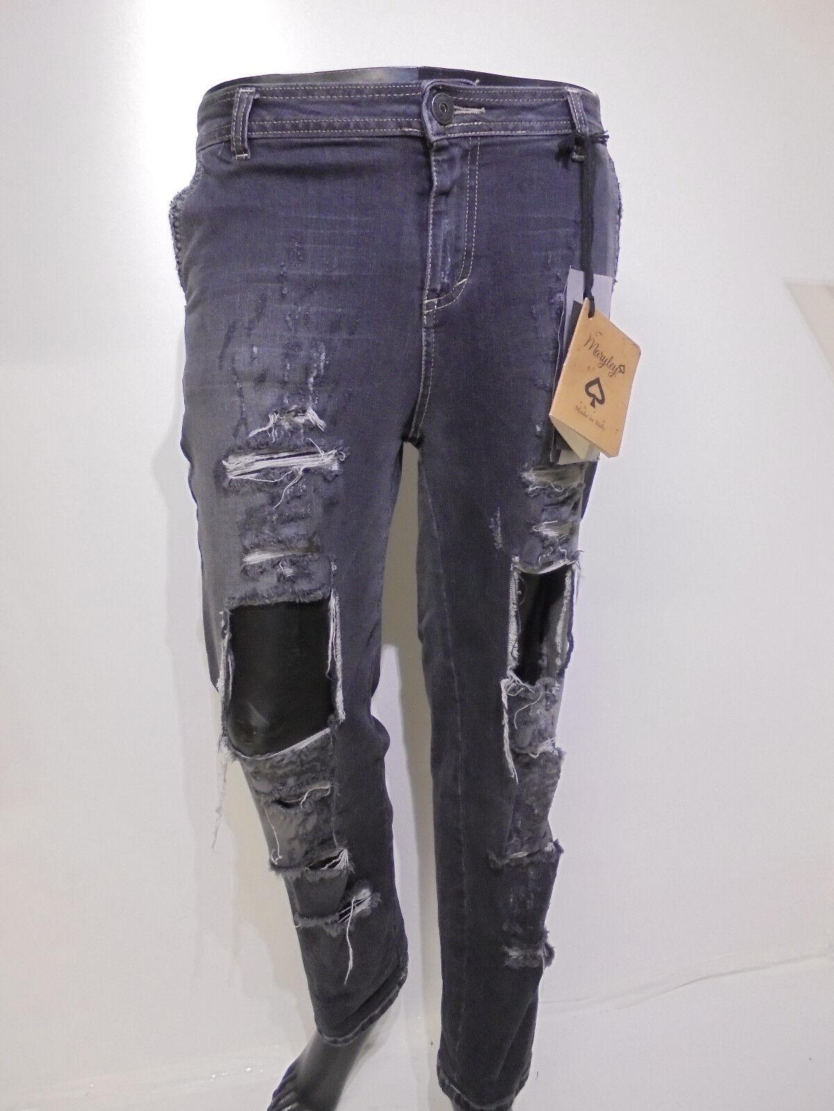 DaMännerJeans Maryley   Hose Frauen Art. B 661 - Rabatt - 75%