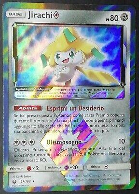 Jirachi Prisma ® Tempesta Astrale 97//168 ® Rara Holo Foil ® Pokemon ® Italiano
