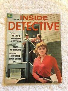 Vintage-INSIDE-DETECTIVE-Magazine-August-1963-True-Crime-ROBERT-SCOTT-COVER-NICE