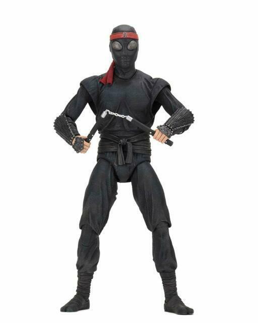 Neca Teenage Mutant Ninja Turtles Foot Soldier 1 4 Scale Action Figure For Sale Online Ebay
