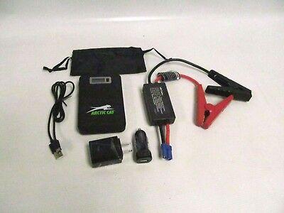 Arctic Cat 12v Battery Jump Start Pack Atv Snowmobile 7639-835 R/b 2436-465 Una Grande Varietà Di Merci