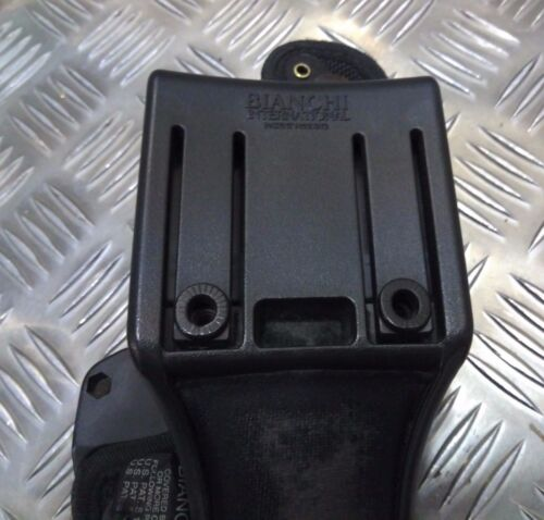 Genuine Bianchi MoD Military Police Black Accumold Thumbsnap Holster Faulty