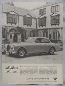 1966-Alvis-3-litre-series-III-Original-advert