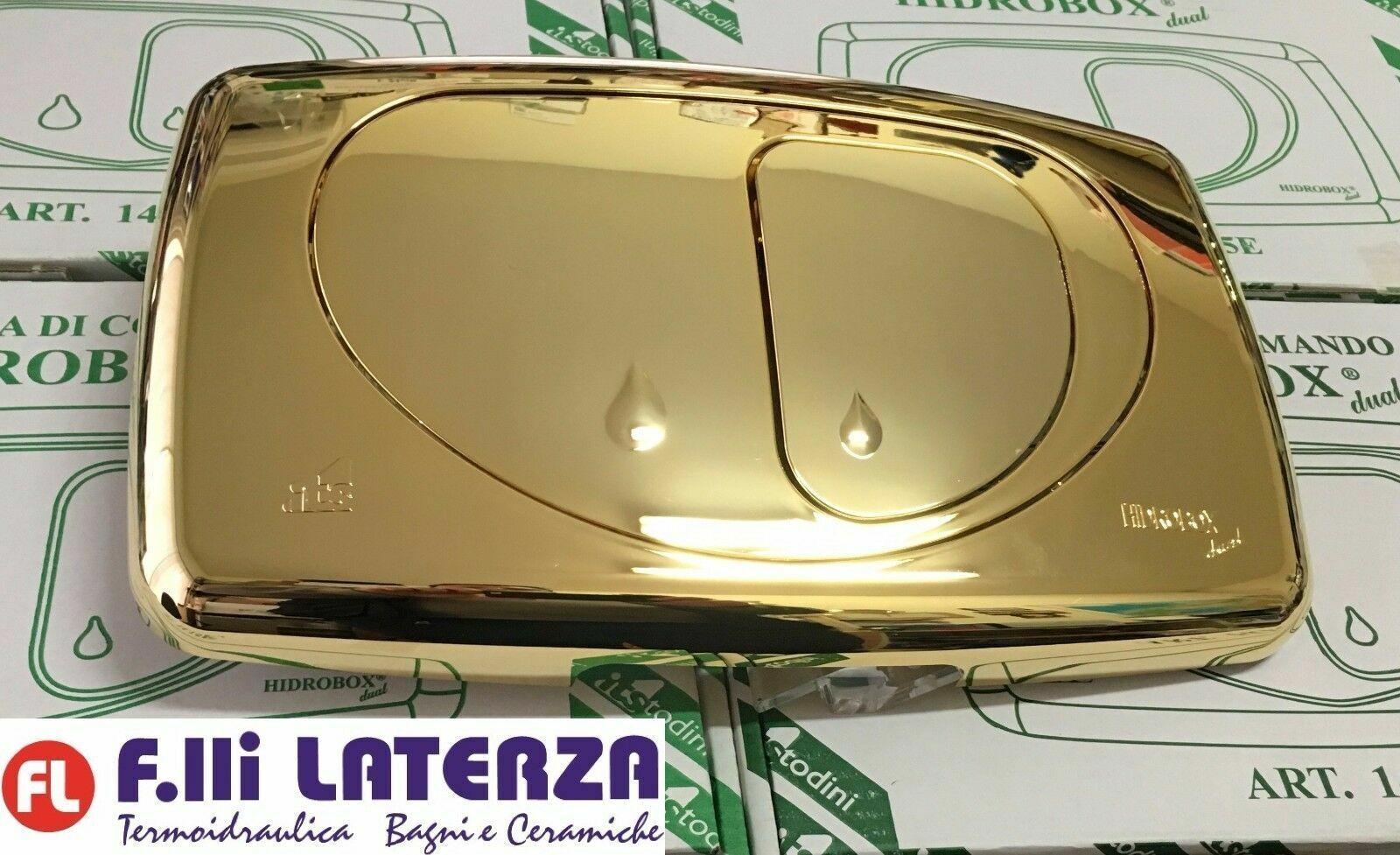KIT PLATE CONTROL DUAL EVOLUTION BRIGHT oro BOX BUILT HIDROBOX TODINI