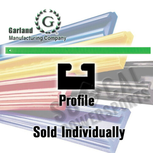 Garland Snowmobile Hyfax Slide Green 46.50in Arctic Cat SnoPro 440 2003-2005