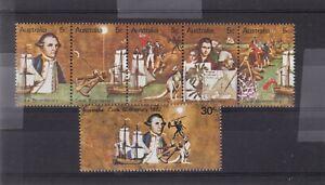 AUSTRALIA COOK BI-CENTENARY 1970 MNH # 477 - 83