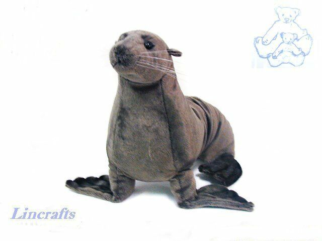 Hansa Seal 3659 Plush Soft Toy Sea Creature Sold by Lincrafts Established 1993