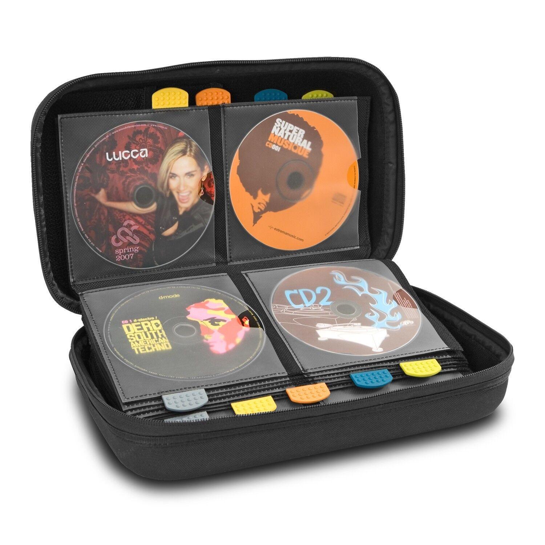 UDG Creator CD Tank 80 schwarz Bag for Semi-Hard Wallet For 80 Discs