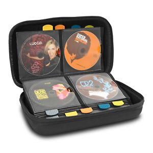 UDG-CREATOR-CD-TANK-80-Noir-Sac-pour-CD-Semi-rigide-Sacoche-de-80-Disques