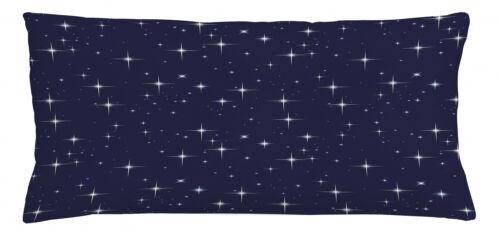 Platz Kissenbezug Nacht Skyline mit Sternen Waschbar