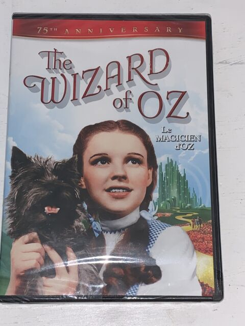 THE WIZARD OF OZ (JUDY GARLAND) - 2 DISC 75TH ANNIVERSARY *NEW DVD*