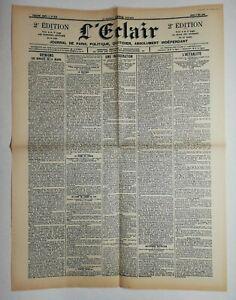N605-La-Une-Du-Journal-L-039-eclair-3-mai-1900-une-inauguration-l-039-actualite