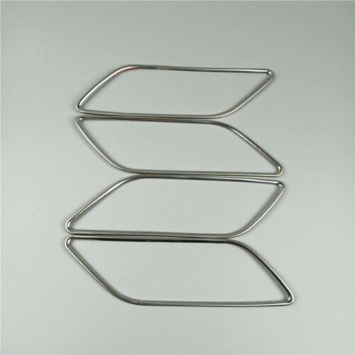 Car Styling Inner Doorknob Frame Decoration Sticker Trim For Audi A3 8V 2013-18