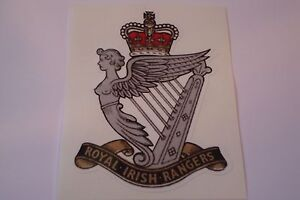 2-X-ROYAL-IRISH-RANGERS-HM-ARMED-FORCES-STICKERS-4-034-BRITISH-ARMY