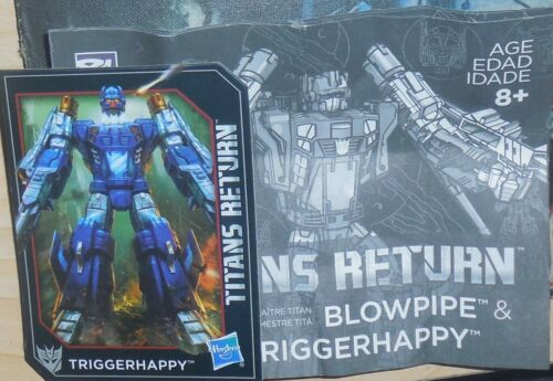 Transformers Titans Return TRIGGERHAPPY Manual Bio Card