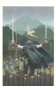 Outlaw Prince Handel Taschenbuch Bemalt Abdeckung - 2011 Kunst Von Esad Ribic