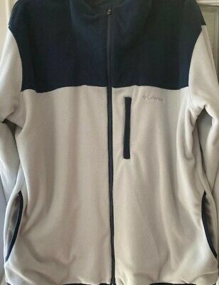 Columbia Men/'s Pine Ridge Printed Half Zip Pullover Fleece Jacket M L XL XXL