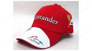 Gorra 78-600 Fórmula uno 1 Scuderia Ferrari F1 Team Alonso Santander ... a2688c5b6b7