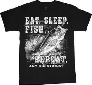 c806be20b92 Big men s t-shirt funny fishing fish decal tee plus size tall 4X 5X ...
