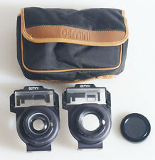TELEPHOTO AND WIDE ANGLE ADAPTER LENSES FOR NEW SURE SHOT WITH CASE