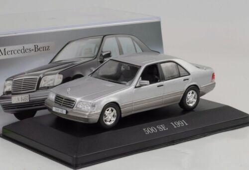 1991 Mercedes-Benz 500 SE W140 silber 1:43 IXO Altaya Collection