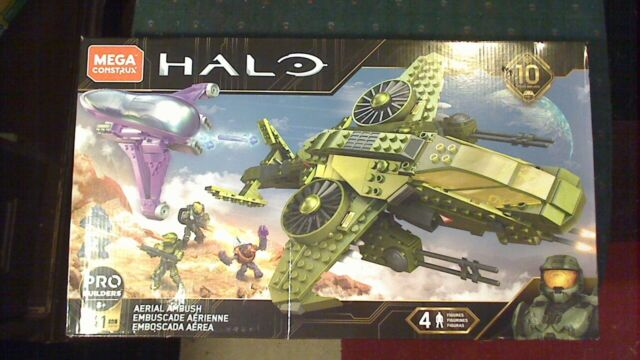 Mega Construx Halo Aerial Ambush GGF83 Mega Bloks BRAND NEW IN BOX SEALED