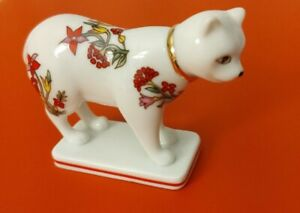 FRANKLIN-MINT-CURIO-CABINET-CAT-COLLECTION-1988-034-KAKIEMON-034