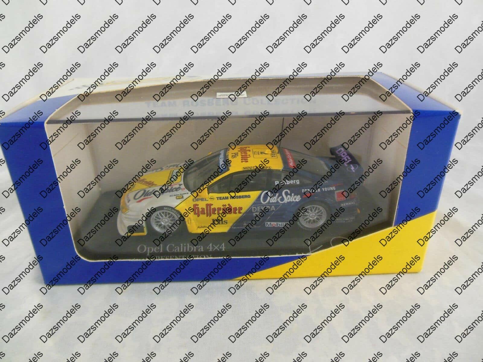 Minichamps Opel Calibra 4x4 Team Rosberg K.Rosberg 430 954192