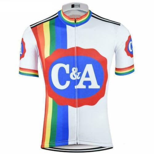 1978 C/&A Eddy Merckx Retro Cycling Jersey