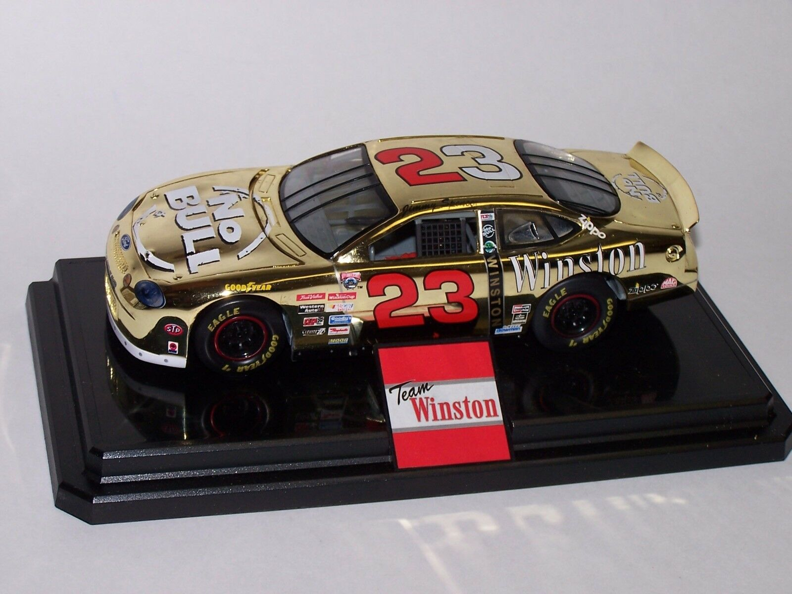 Jimmy spencer 1998   23 - bull Gold ford taurus 1   24 hobby - champions