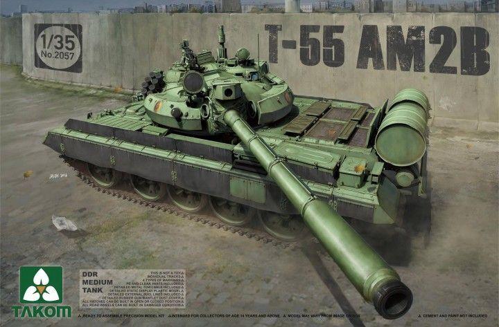 Takom 1 35 DDR Medium Tank T-55 AM2B (3 in 1)  02057  | Genialität