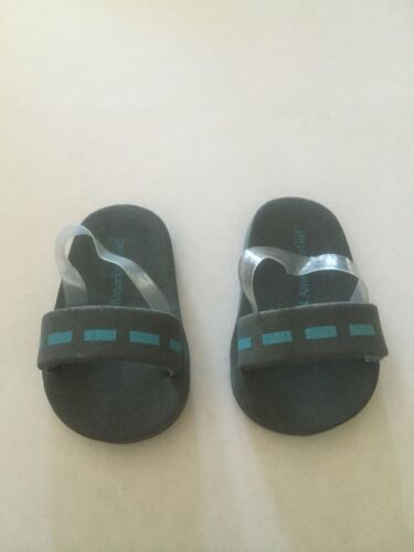 2009 American Girl Doll Chrissa Warm Up Set Retired Sandals Shoes ONLY