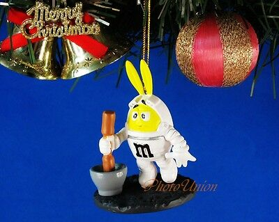 Decoration Ornament Xmas Tree Home Decor M&M Chocolate Apollo Moon Landing *N220
