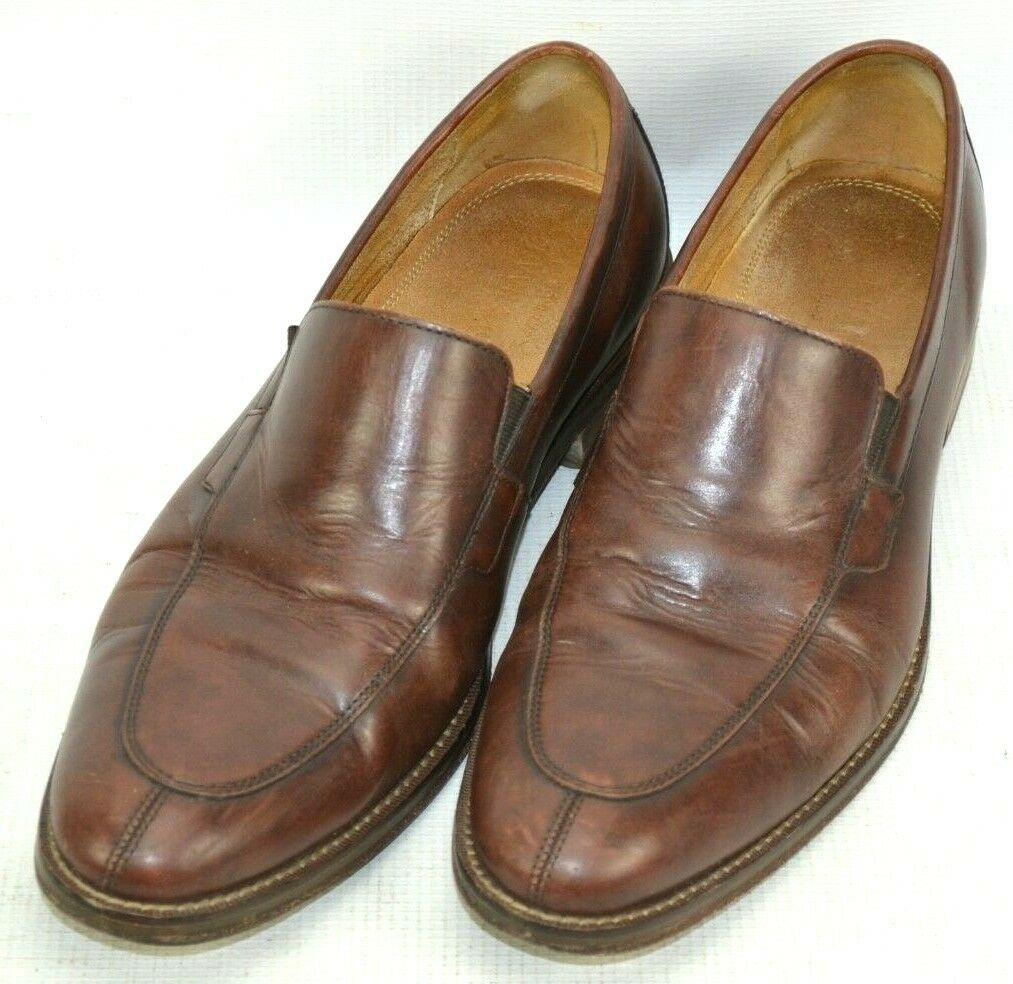 Cole Haan GRAND.OS Madison Venetian Loafers Shoes Mens Size 10 M Brown Split Toe