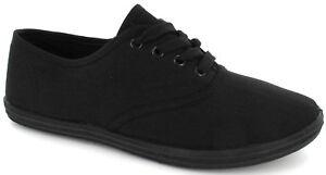 chaussures à sport Plimsoll femmes de pour plates avec lacets Chaussures 8wSqO