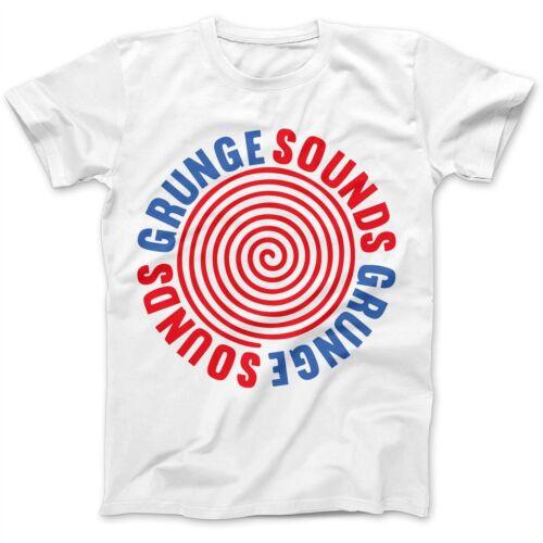 Sounds As Worn By Kurt Cobain T-Shirt 100/% Premium Cotton Nirvana Grunge