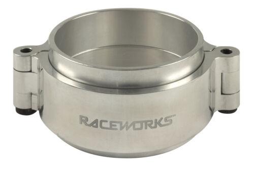 "Aluminium Intercooler Pipe Clamps 4.0/"" Black IPC-400ABK Raceworks"