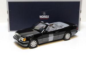 1-18-norev-mercedes-300-ce-24-cabriolet-1990-Black-New-en-Premium-modelcars