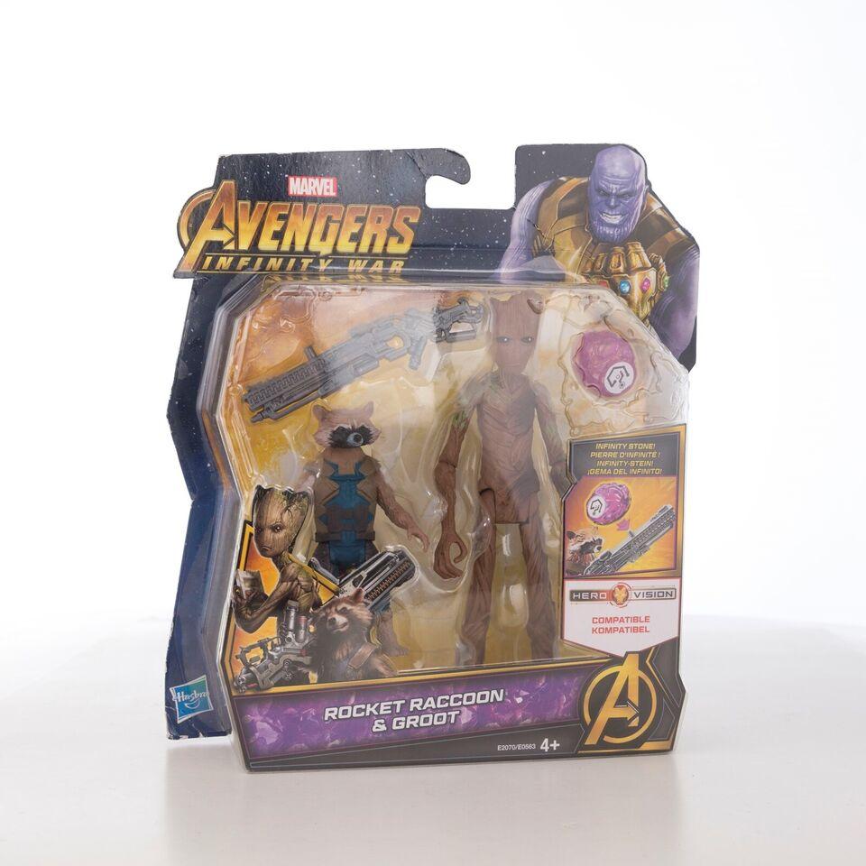 Rocket Raccoon & Groot , Marvel Avengers Infinity War