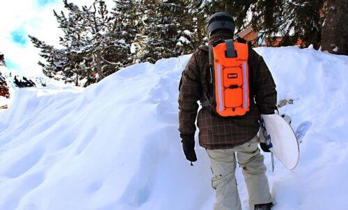 Par-dessus bord Pro Vis 20 l Sac à dos Hi Vis Orange Outdoors Sport Randonnée *