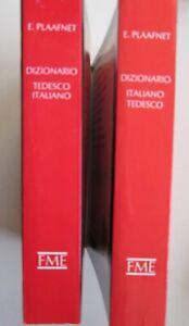 C386-PLAAFNET-2-VOLUMI-DIZIONARIO-TEDESCO-ITALIANO-FRATELLI-MELITA-646-656-1990