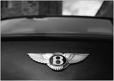 A0 A1 A2 A3 A4 Sizes Bentley Super Car Logo Badge Art Giant Poster Print