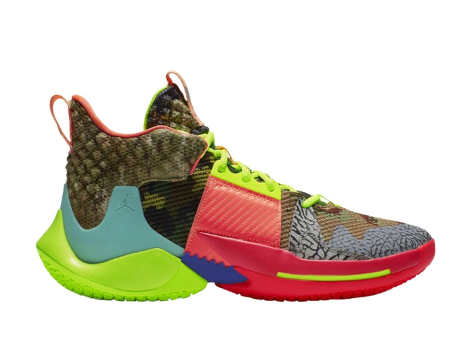 Nike Air Jordan Why Not Zero.2 Russell Westbrook All Star Multi color