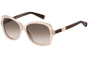 New Max Mara Jewel/s H8F Pink Gold 55mm Women Sunglasses