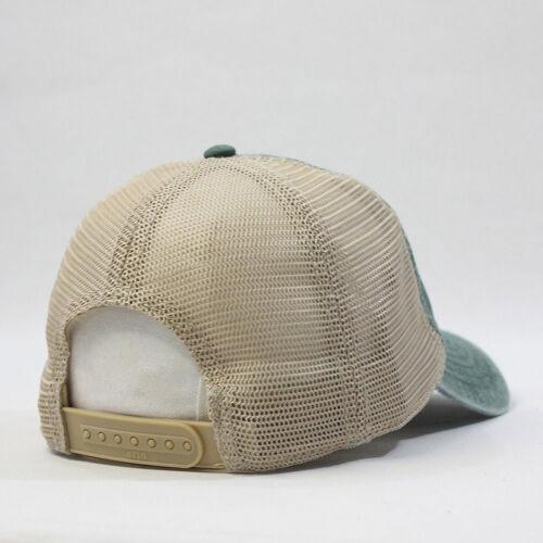 New Vintage Washed Cotton Soft Mesh Adjustable Baseball Hat