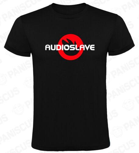 Camiseta hombre Audioslave Circulo Rojo tallas y colores