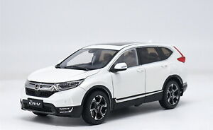 1-18-Scale-Honda-CR-V-CRV-2017-SUV-White-Diecast-Model-Car-Toy-Collection